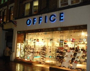 Retailer 'OFFICE' – Up for Sale