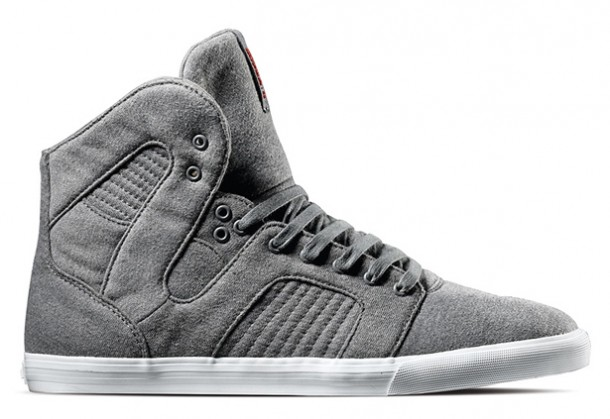 supra pilot grey fleece