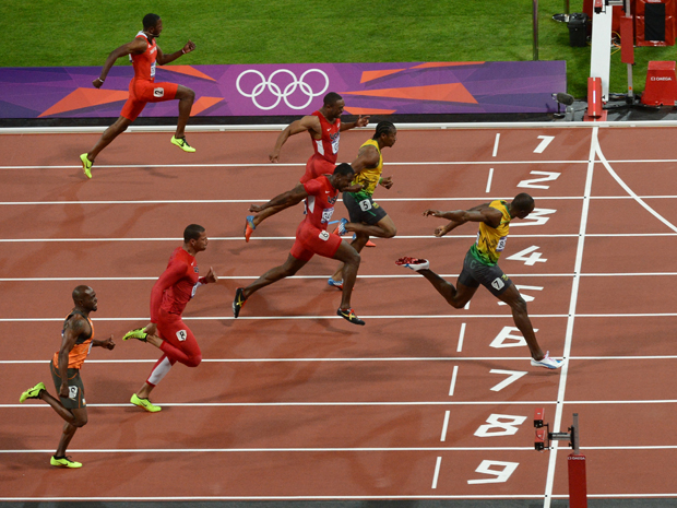 Usain Bolt wins Olympic 100m GOLD at London 2012 | VA Garments