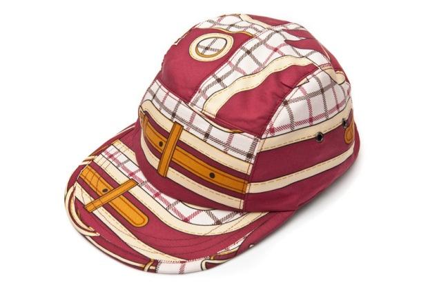 Géométrick-Caps-Made-with-Vintage-Hermès-or-Cèline-Silk-Scarves-02