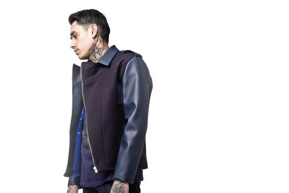 VA Innovation biker jacket