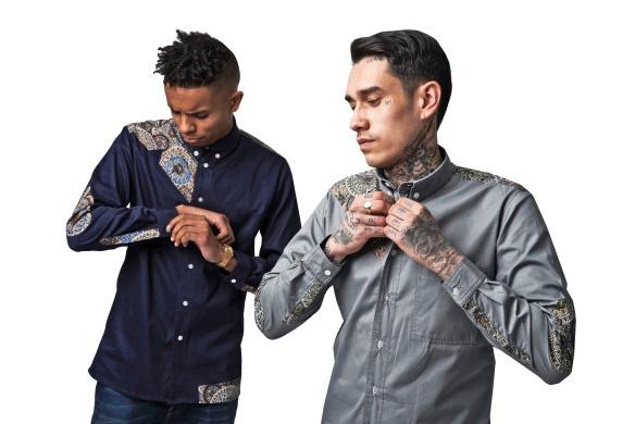 VA Innovation Grey and Navy Shirt