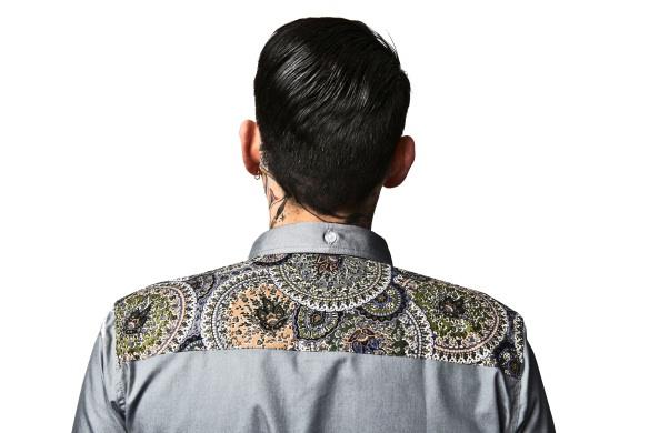 VA Innovation Grey shirt back