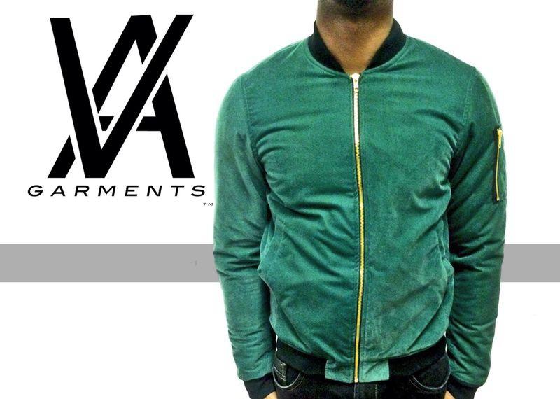Product Of The Day -THE GREEN VA BOMBER JACKET!!! | VA Garments