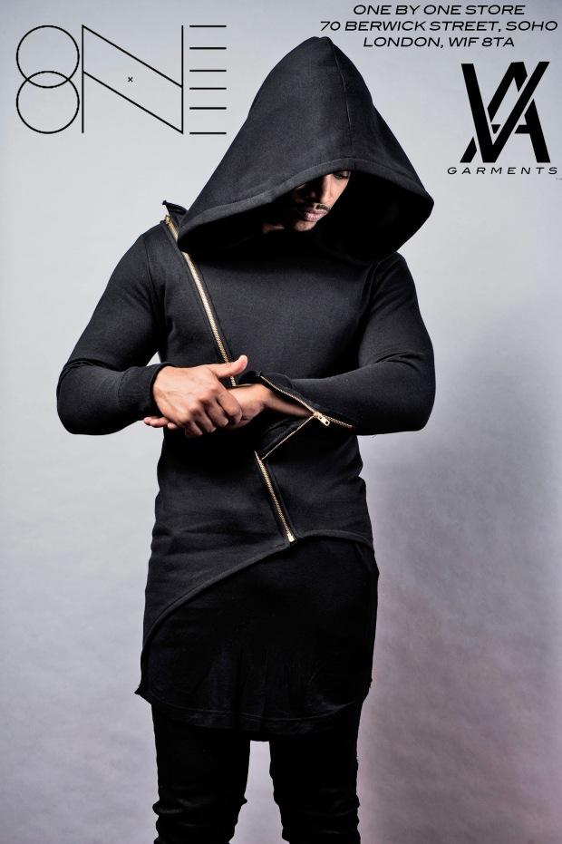 VA Dynamic Cross Zip Hoodie